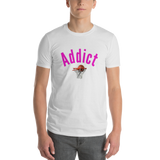 Addict/Basketball/Short-Sleeve T-Shirt - Retro Guy Apparel
