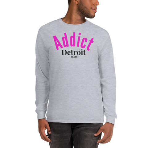 Addict/Detroit/Long Sleeve T-Shirt
