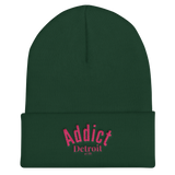 Addict/Detroit/Cuffed Beanie - Retro Guy Apparel