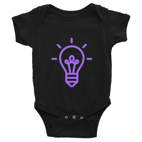 Lightbulb / Infant Bodysuit - Retro Guy Apparel