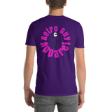 Retro Guy / Circle Logo / front-back / Short-Sleeve T-Shirt - Retro Guy Apparel