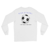 SOCCERHIGHSCHOOL/retroguy/L/S T-Shirt/  Retro Guy Apparel