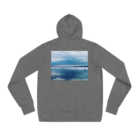 JustaMoment/Front-Back/Unisex hoodie