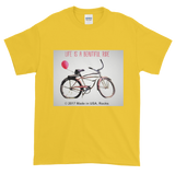 BEAUTIFUL RIDE / Bicycle / Short-Sleeve T-Shirt - Retro Guy Apparel