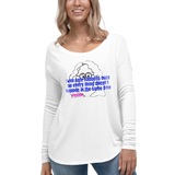 Enstein/Ladies' Long Sleeve Tee - Retro Guy Apparel