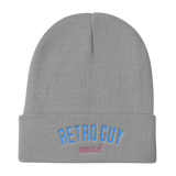Knit Beanie / Retro Guy Logo - Retro Guy Apparel