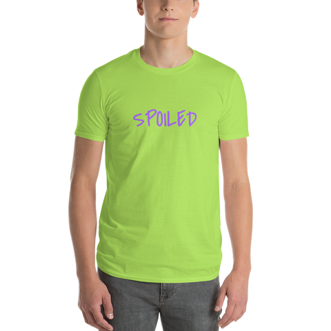 Spoiled / Parody / Short-Sleeve T-Shirt - Retro Guy Apparel
