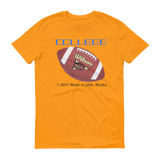 COLLEGE/football/Short sleeve t-shirt - Retro Guy Apparel