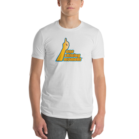 One Shining Moment/March Madness/Short-Sleeve T-Shirt - Retro Guy Apparel
