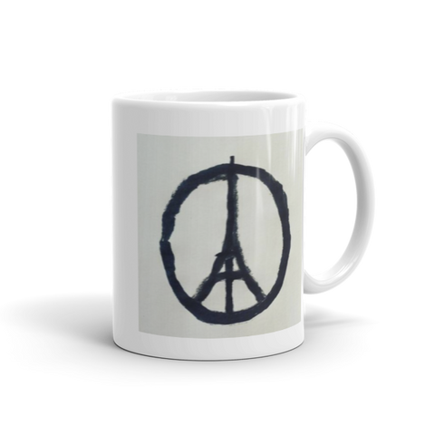 Peace / Coffee Mug / Retro Guy Apparel - Retro Guy Apparel