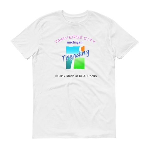 N.D.TRENDING/t.c./Short sleeve t-shirt - Retro Guy Apparel