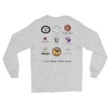 WINERIES/t.c./Long Sleeve T-Shirt/front,back-print - Retro Guy Apparel