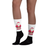 Santa Socks - Retro Guy Apparel