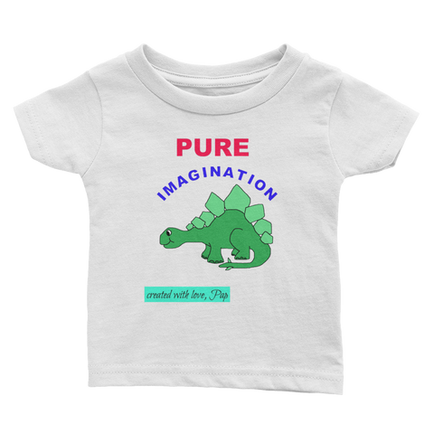PUREIMAGINATIONdino1-Infant Tee - Retro Guy Apparel