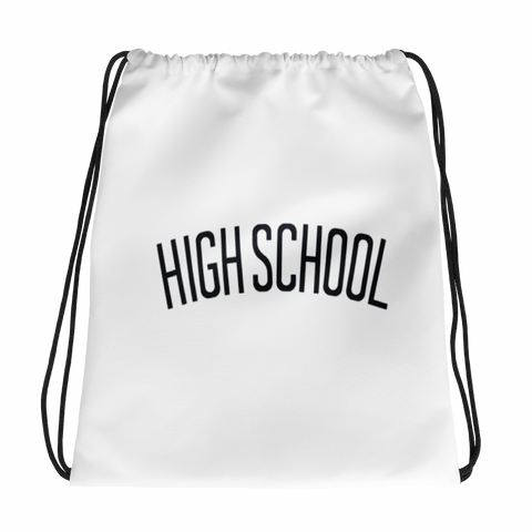High School / Hockey / Drawstring bag - Retro Guy Apparel