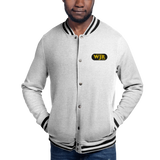 WJR/Detroit/Embroidered Champion Bomber Jacket - Retro Guy Apparel