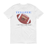 COLLEGE / Football / Short sleeve t-shirt / Retro Guy Apparel