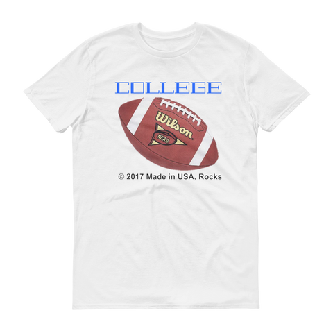 COLLEGE/football/Short sleeve t-shirt