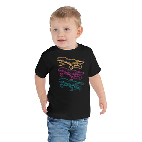 SkateBoard/Toddler Short Sleeve Tee