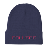 College / Knit Beanie - Retro Guy Apparel