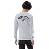 Lions/Detroit/front-back\Men's Long Sleeve Shirt