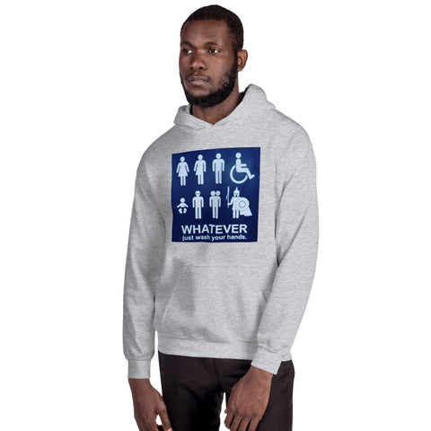 WhatEver/Hooded Sweatshirt - Retro Guy Apparel