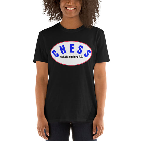 Chess/Short-Sleeve Unisex T-Shirt