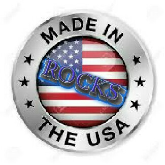 Made in the USA, Rocks