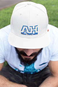 AH Right Thru Here RB Logo Snapback Baseball Hat DO WORK! Collection by Hager & Barrick