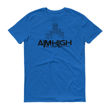 AIM HIGH Black Logo Men's Anvil T-shirt - SWEASY STREET COLLECTION - FREE SHIPPING