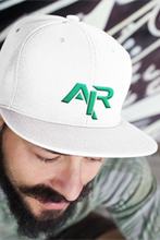 AIR GREEN LOGO Snapback Wool Blend Baseball Hat - FREE SHIPPING