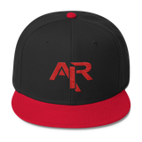 AIR RED LOGO Snapback Wool Blend Baseball Hat - FREE SHIPPING