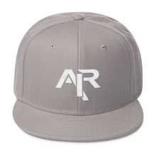 AIR WHITE LOGO Snapback Wool Blend Baseball Hat - FREE SHIPPING