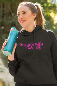Beautifully Flawed Ladies' Gildan Hoodie - FREE SHIPPING ON THIS ITEM