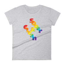Clean & Sober Pride Ladies' Anvil T-shirt