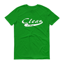 CleanAF White Logo Men's Anvil T-shirt