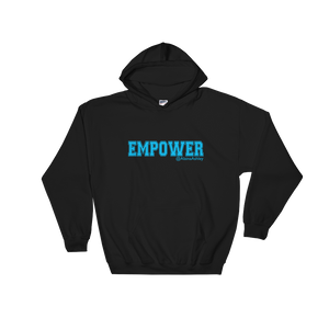 Empower Blue Logo Ladies' Gildan Hoodie @AlainaAshley Collection