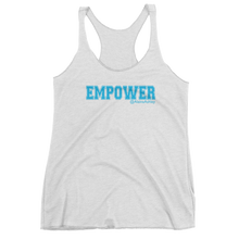 Empower Blue Logo Ladie's Next Level Tank @AlainaAshley Collection