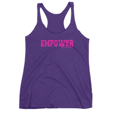 Empower Pink Logo Ladies' Next Level Tank @AlainaAshley Collection