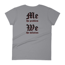 I am the Demon 2-sided print Ladies' Anvil T-shirt