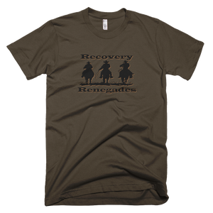 Recovery Renegades Men's American Apparel T-shirt