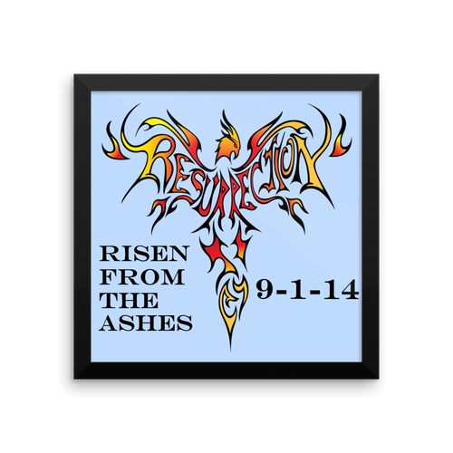 Phoenix of Ressurection Personalized Plaque - Framed 10