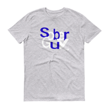 Sober Guy Blue-White Logo Men's Anvil T-shirt SPIF Collection