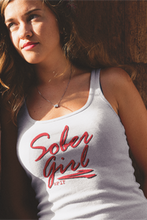 Sober Girl Red Logo Ladies' Next Level Tank - SPIF Collection