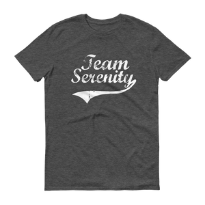 Team Serenity White Logo Men's Anvil T-shirt - FREE SHIPPING
