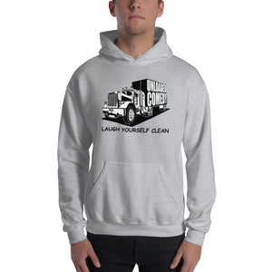 Unloaded Comedy - Laugh  Yourself Clean Gildan Hoodie - FREE SHIPPING