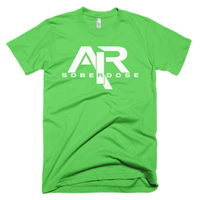 AIR Soberdose White Logo Men's American Apparel T-shirt