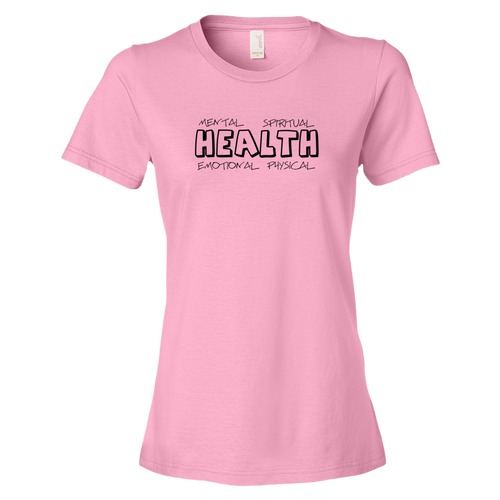 Four Your Health Ladies' Anvil T-shirt