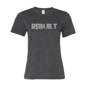 REBUILT Grey Ladies' Anvil T-shirt
