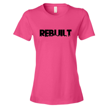 REBUILT Black Ladies' Anvil T-shirt